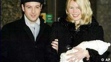 Claudia Schiffer mit Baby