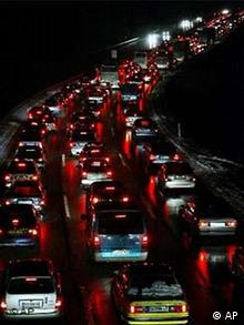 Verkehr Autobahn A8