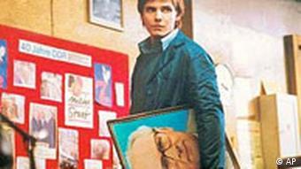 Actor Daniel Brühl in 'Goodbye Lenin'