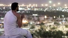 Betender Muslime nahe Mekka