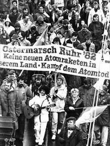 Ostermarsch Demonstration in 1982