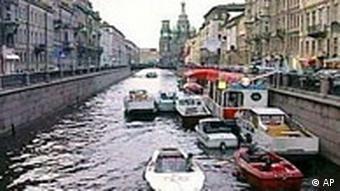 Sankt Petersburg Kanalrundfahrt