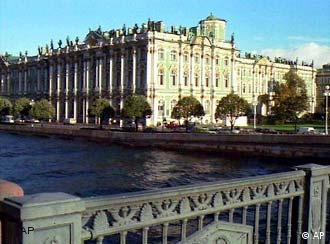 Many of St. Petersburg's top landmarks including the world-famous Hermitage Museum have been extensively restored.
