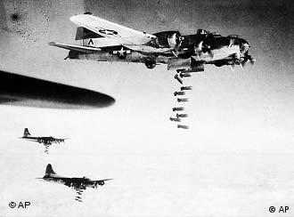 B-17 bombardeiam Dresden
