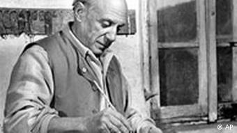 Spanish artist Pablo Picasso, pictured in 1948