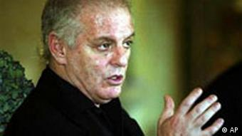 Daniel Barenboim, who lost the position in Berlin to Rattle