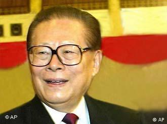 Jiang Zemin headshot, as China President, photo 2003/1/31
