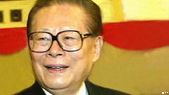 Jiang Zemin mit Thumbnail