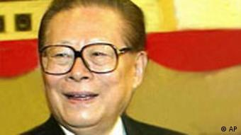 Jiang Zemin headshot, as China President, photo 2003/1/31