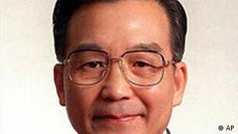 Wen Jiabao mit Thumbnail