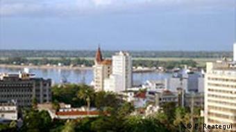 Blick über die mosambikanische Hauptstadt Maputo