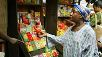 A person shops for medication in Nigeria