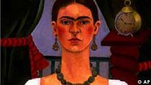 Frida Kahlo Selbstportrait
