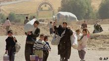 Kurdische Flüchtlinge