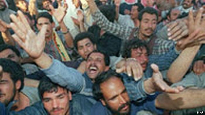 Irakische Flüchtlinge (AP)