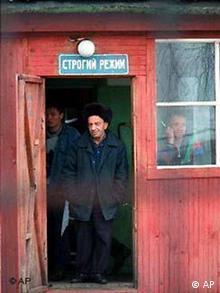 Strenge Haft im Gulag