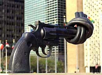 مجسمهای از کارل فردریک رویترزوارد که از جانب دولت لوکزامبورگ به سازمان ملل اهدا شد.