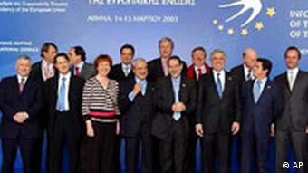 EU Verteidigungsminister in Athen