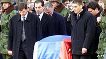 Beerdigung von Zoran Djindjic