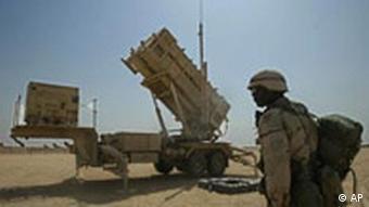 در سال ۲۰۰۳ نیز پدافند موشکی پاتریوت در کویت تحت نظارت آمریکا نصب شده بود
