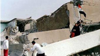 Zerstörtes Schulegebäude im Irak (Foto:AP)