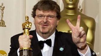 Michael Moore erhält Oscar