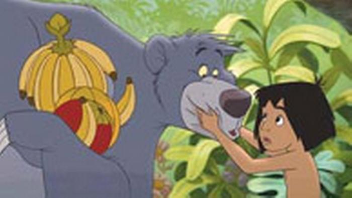 A scene from the film The Jungle Book