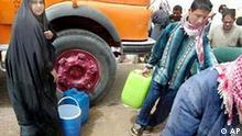 Wasser für die Bevölkerung in Umm Kasr