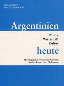 Buchcover: Bodemer, Pagni, Waldmann - Argentinien heute