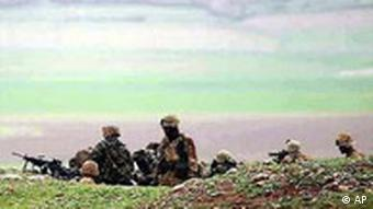 Stellung der USA Soldaten in Irbil Nord Irak