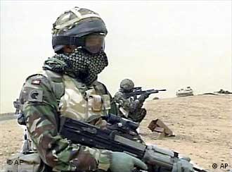 los soldados americanos en irak: