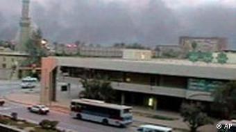 Bunkerbrechende Bomben auf Bagdad