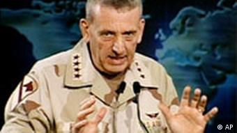 General Tommy Franks, US-Zentralkommando Doha, Katar