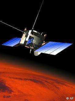 Mars Express sobrevuela Marte.