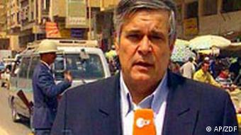ZDF-Korrespondent Ulrich Tilgner in Bagdad Buchdossier Irak