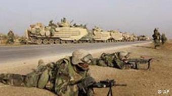 US marines near Baghdad