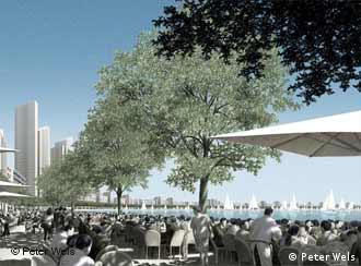 Meinhard von Gerkan's vision: Luchao Harbor City near Shanghai