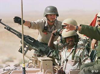 Privatunterricht für Soldaten in Saudi-Arabien