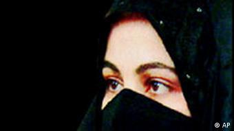 Islam Frau mit Schleier