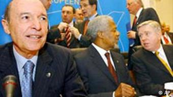 EU Gipfel Erweiterung Simitis Annan Cox