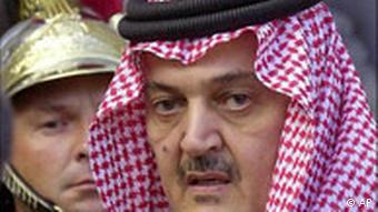 Prinz Saud el Faisal Außenminister von Saudi Arabien