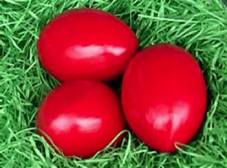 Los huevos, muy presentes en la Semana Santa, simbolizan la vida.