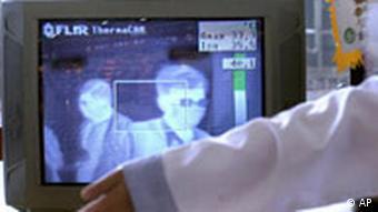SARS Monitor Wärmekamera