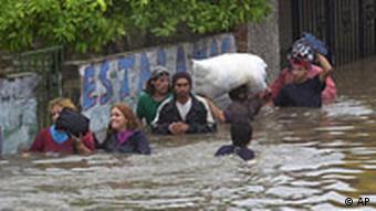 Überschwemmung in Argentinien Santa Fe