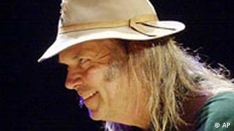 Neil Young in Madison Square Garden