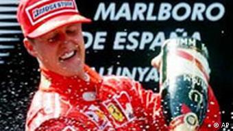 Schumacher Saison 2003 Michael Schumacher gewinnt in Barcelona