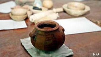 اشیای قیمتی موزهی ملی عراق