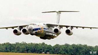 ИЛ-76: таким самолетом доставлялись грузы талибам