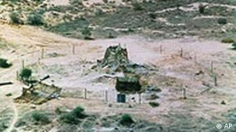 A site of India's nuclear test in 1998