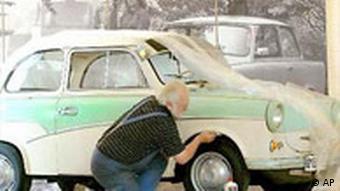 Trabant 500 Ausstellung Ostmobile